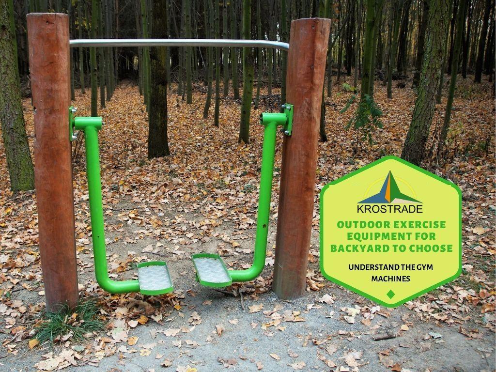 How do you build a backyard gym?