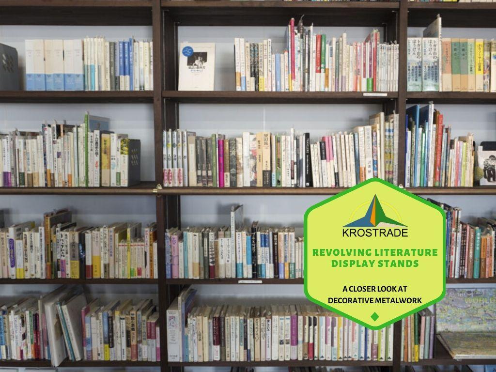 Revolving Literature Display Stands - Krostrade