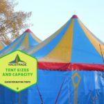 Example Of Tent Sizes And Capacity! 8 Bonus Tips!