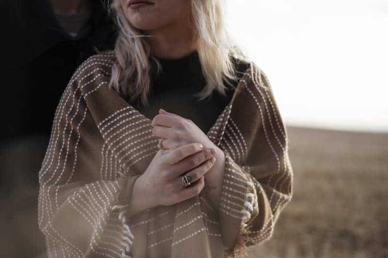 how to make a poncho out of a blanket