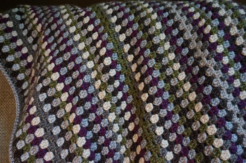 how to repair a crochet blanket