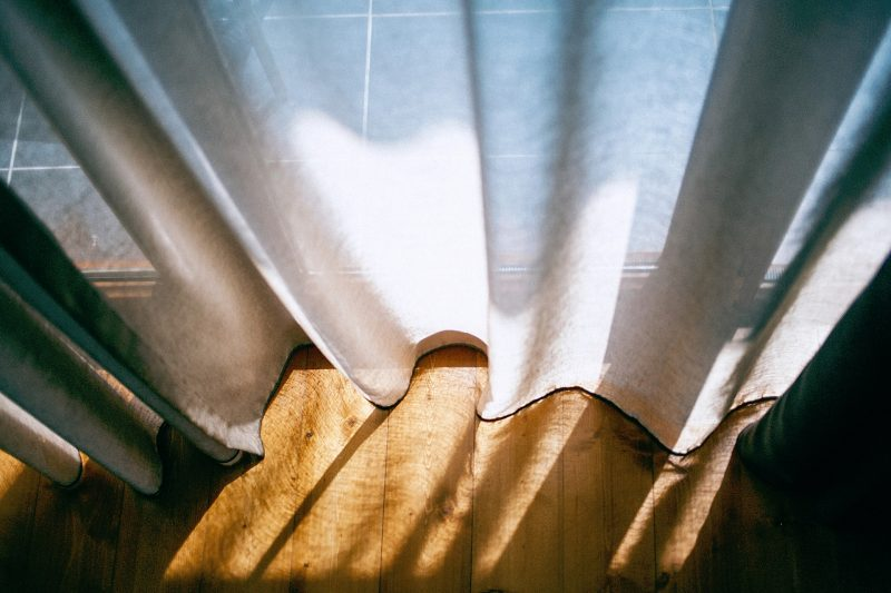 how to hang back tab curtains with clip rings