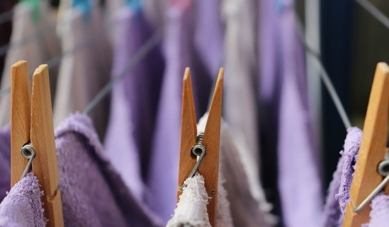 how to dry a wool blanket