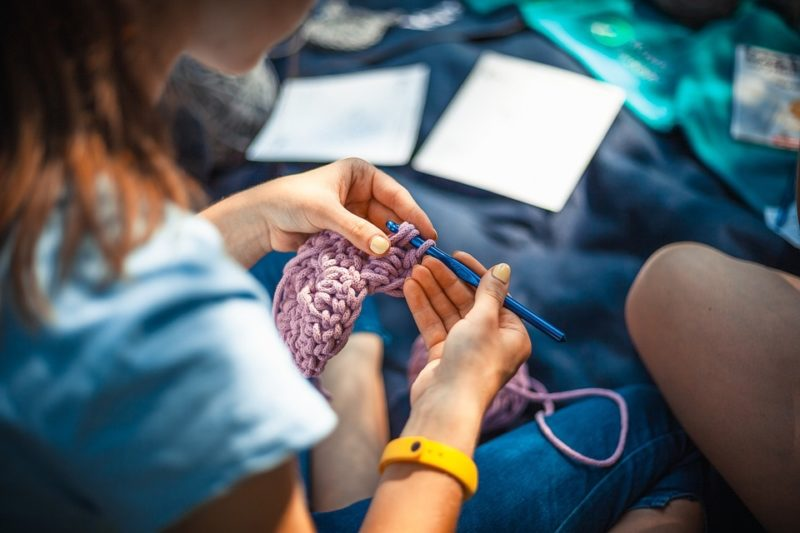 How To Knit A Mermaid Blanket