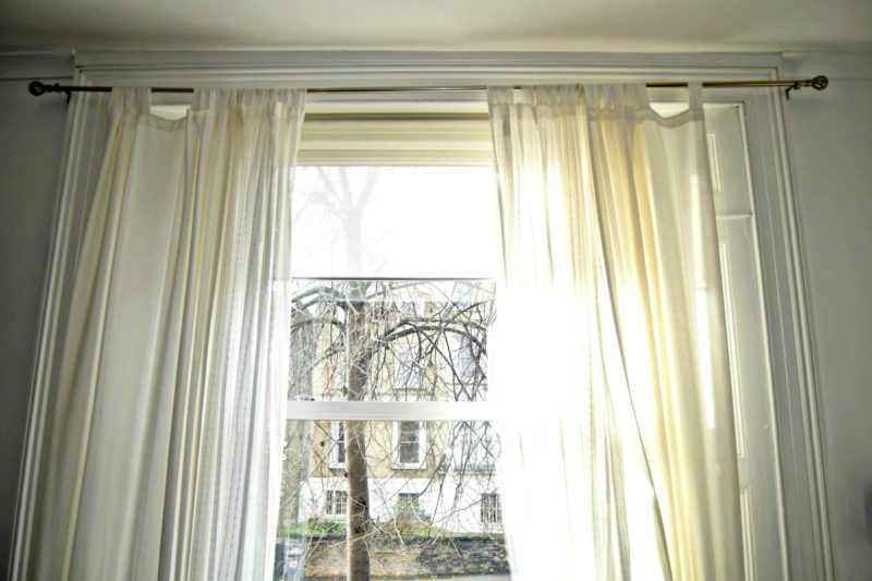 How to make pinch pleats curtains