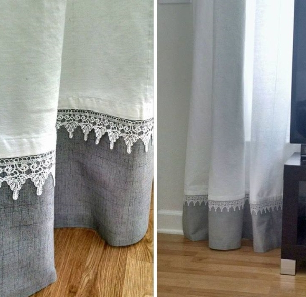 How to Lengthen Curtains Without Sewing