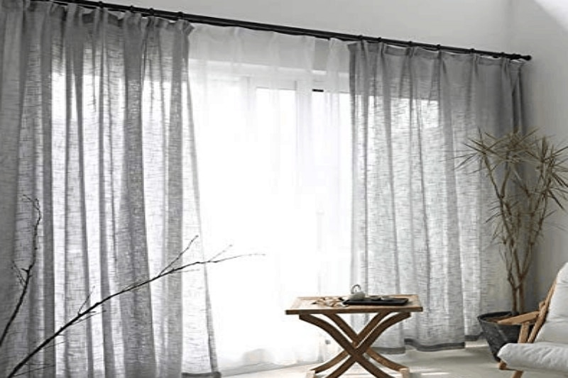 how to hang curtains in an apartment