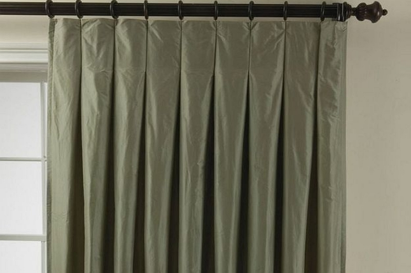 How to make inverted pleat curtains