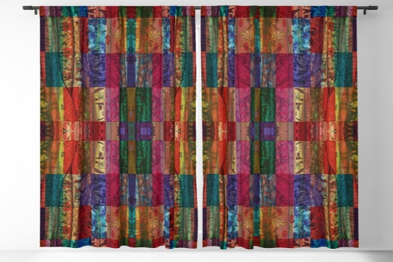 How to Make Gypsy Curtains