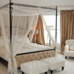 4 Tips Of How To Hang Curtains On A Canopy Bed?