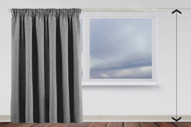 how many yards for curtains