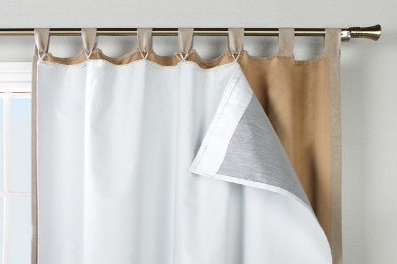 How to make insulating curtains
