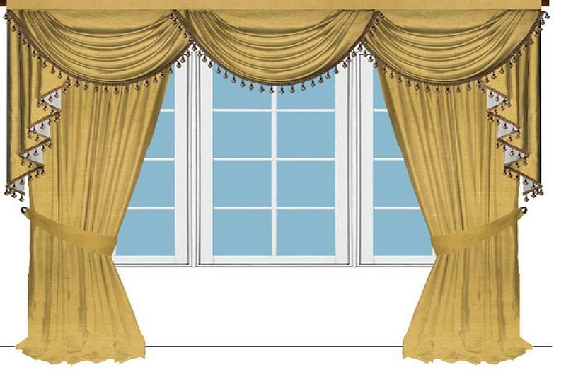 How to make Swags for Curtains|How to make Swags for Curtains