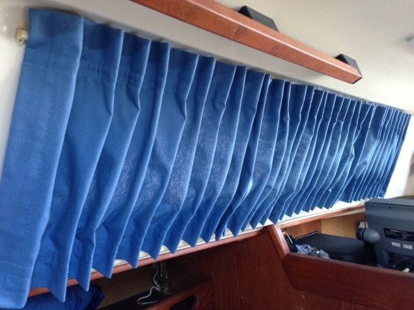 How to make Boat Curtains