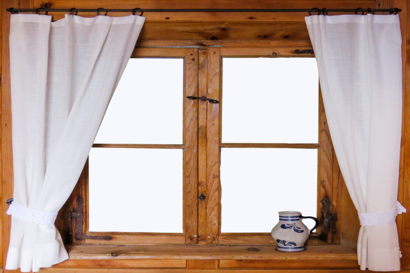 what color curtains go with brown walls