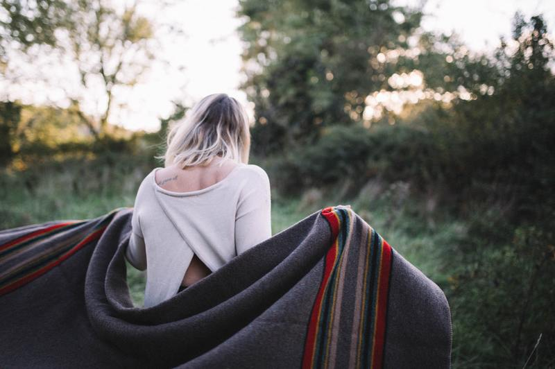 how to clean a pendleton wool blanket