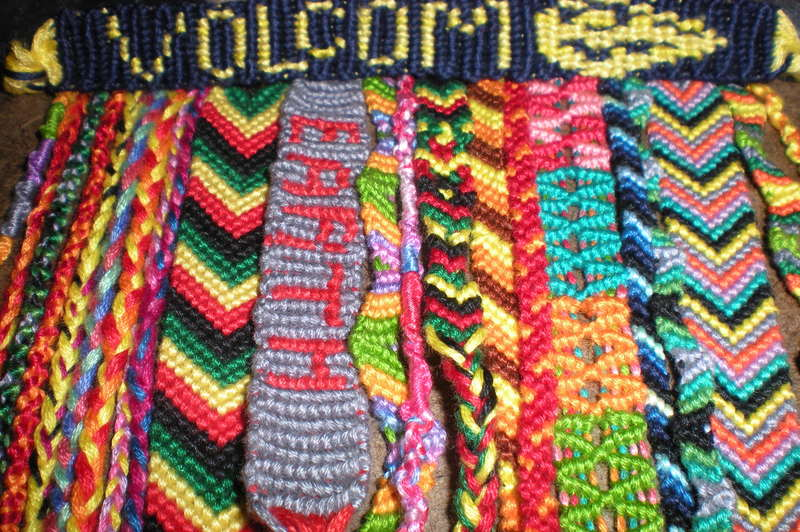 how to crochet words into a blanket