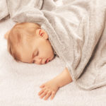4 Steps Of How To Draw A Newborn Baby In A Blanket?