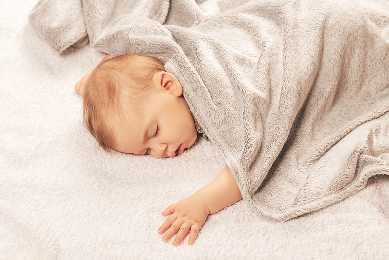 how to draw a newborn baby in a blanket