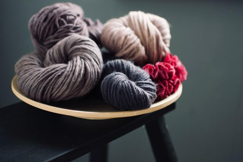how to hand knit a merino wool blanket