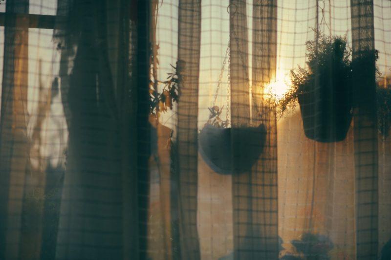 how to make macrame curtains