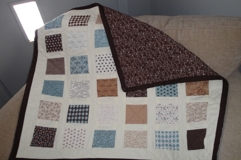 how to quilt a baby blanket