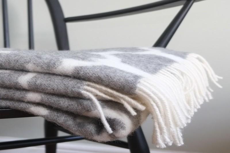 how to wear a wool blanket